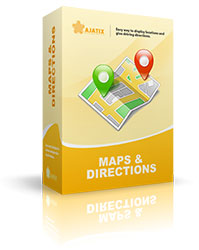 Maps & Directions Dreamweaver extension