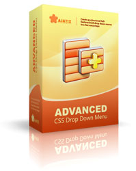 Advanced CSS Drop Down Menu Adobe Dreamweaver extension