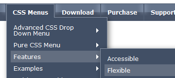 Thesis custom drop down menu